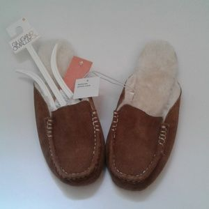 Women's Genuine Suede Slippers